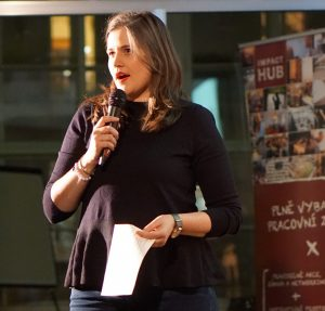 Social Impact Award Kick Off Pavlína Louženská_patronka programu