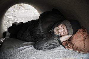 Zachycení reálného života lidí bez domova, foto: prof. Jindřich Štreit