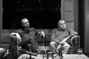 Páté diskuse z cyklu Art Match na téma podpory mladých umělců se zúčastnili sběratel umění Alberto di Stefano a kurátor mezinárodní ceny Start Point Pavel Vančát.