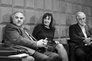 Šestá diskuse z cyklu Art Match byla věnovaná podpoře Národní galerie. Pozvání přijali genergální ředitel NG Jiří Fajt, ředitelka moderních sbírek Milena Kalinovská a dlouholetý podporovatel NG Peter Vajda.