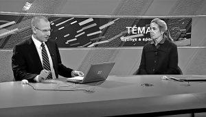 Claire Costello byla při své návštěvě Prahy také hostem zpravodajské televize Z1 v pořadu Téma Z1 – Byznys a společnost.
